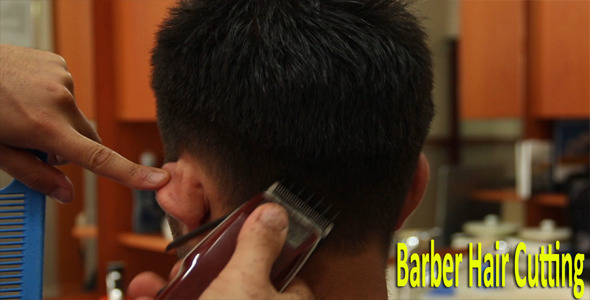 Barber Hair Cutting