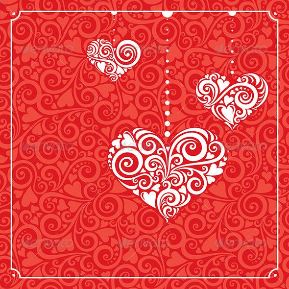 GraphicRiver Valentine s Day Card 5972886
