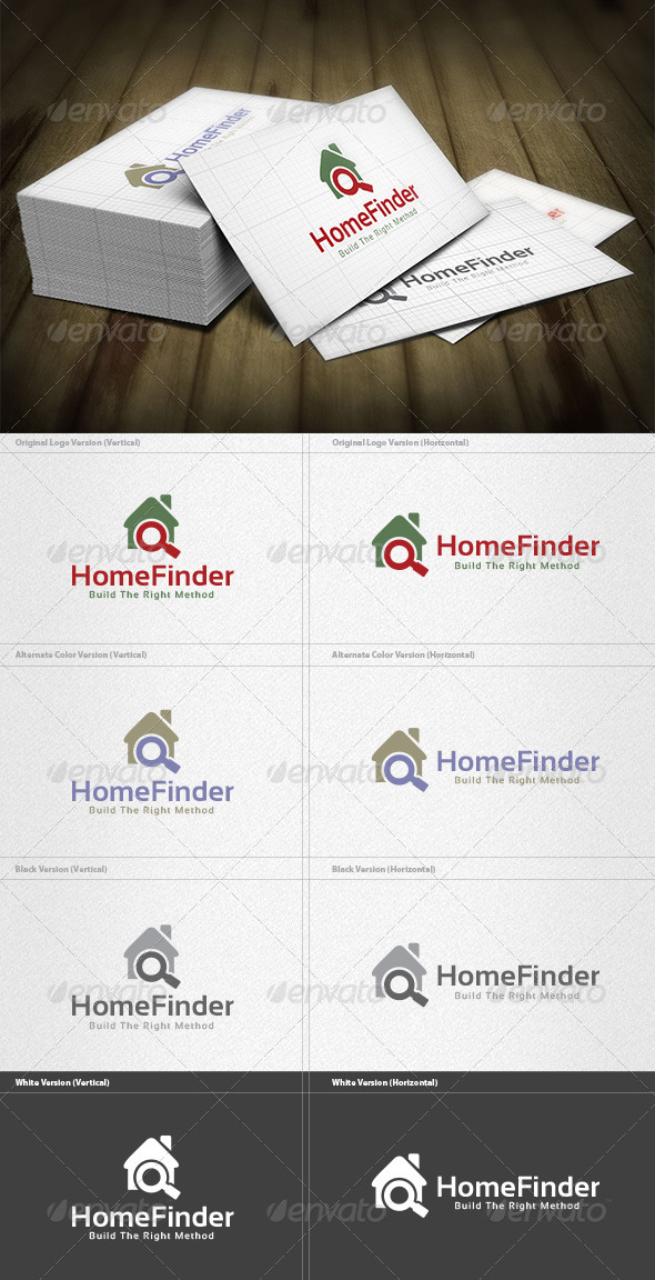 GraphicRiver Home Finder Logo 5973045