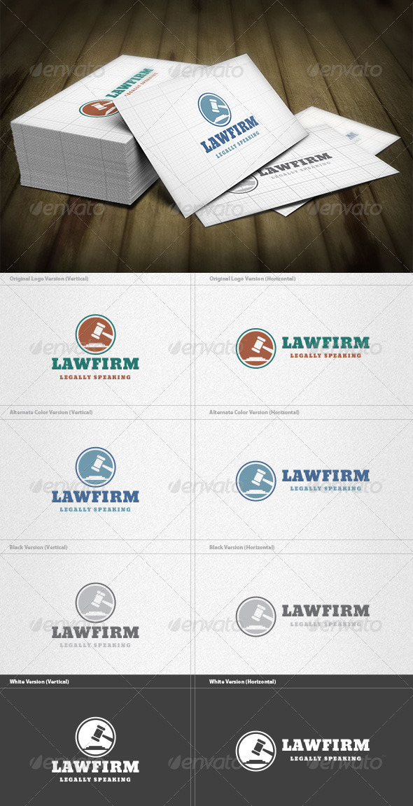 GraphicRiver Law Firm Logo 5973046
