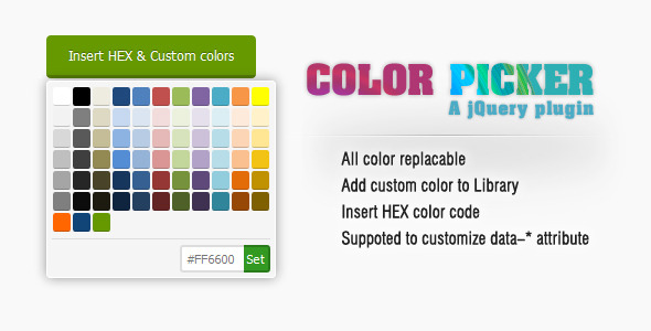 CodeCanyon jQuery Color Picker 5946602