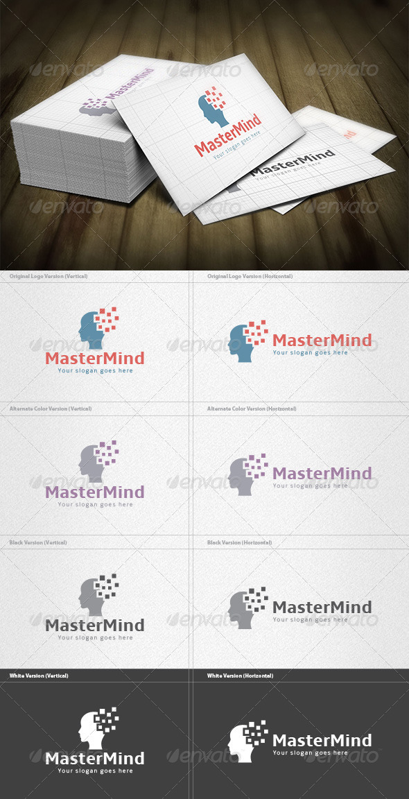 GraphicRiver Master Mind Logo 5973166