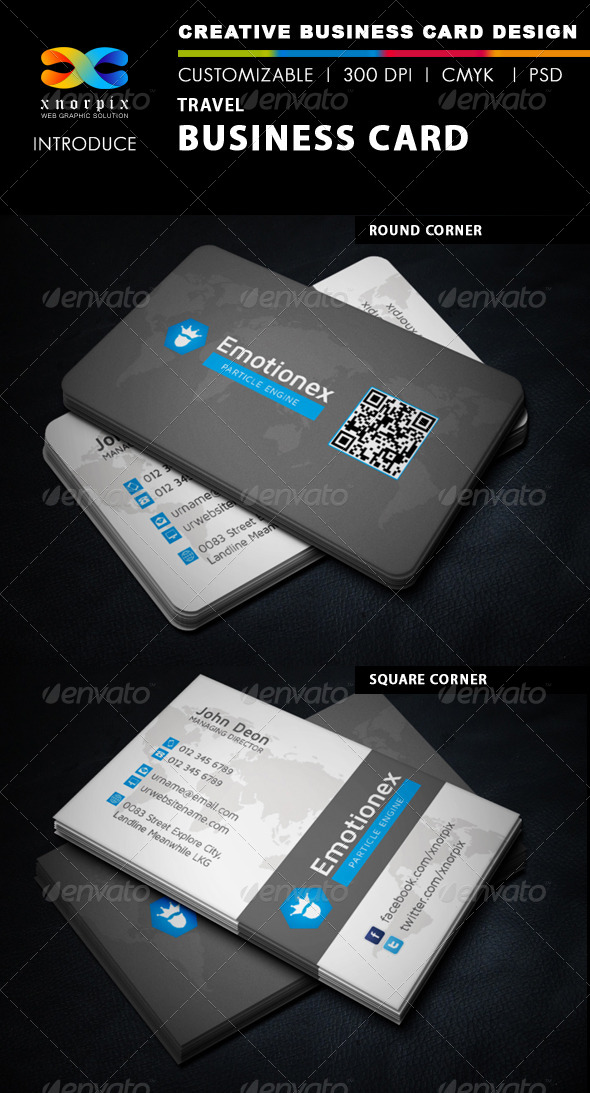 GraphicRiver Travel Business Card 5973167