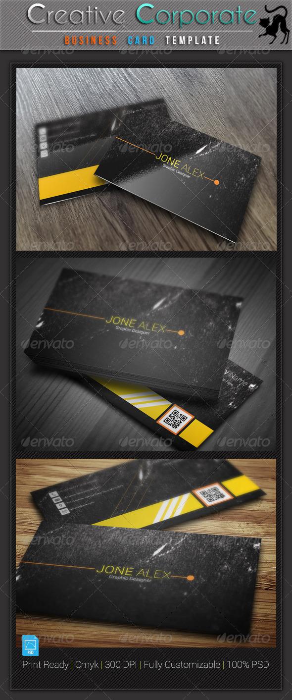 GraphicRiver Creative Business Card v5 5973535