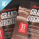 Grand Opening Flyers Vol.01 - GraphicRiver Item for Sale