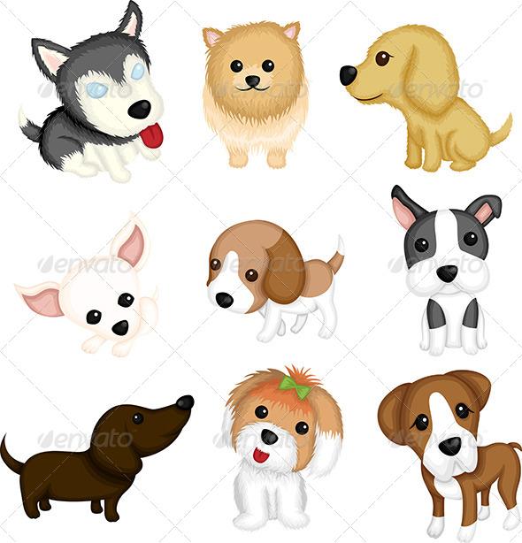 GraphicRiver Dog Breeds 5973568