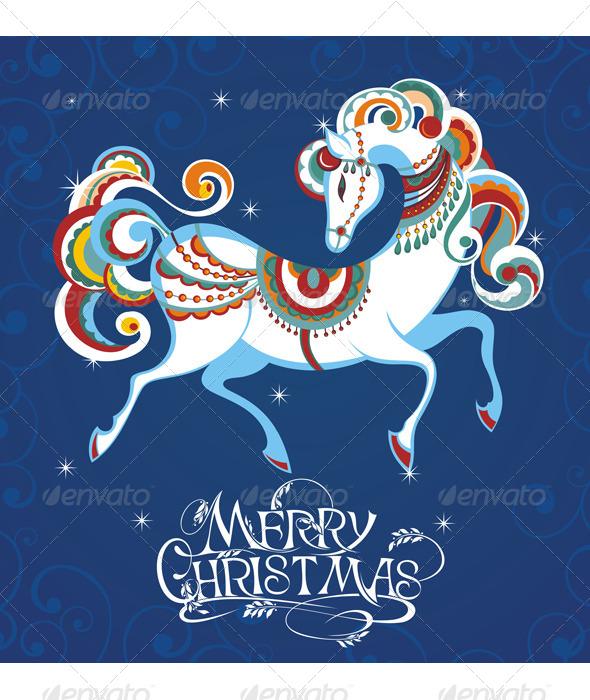 GraphicRiver Horse 5973602
