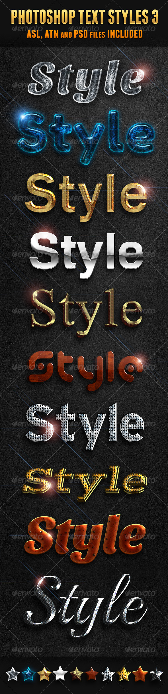 GraphicRiver Photoshop Text Styles 3 5973631