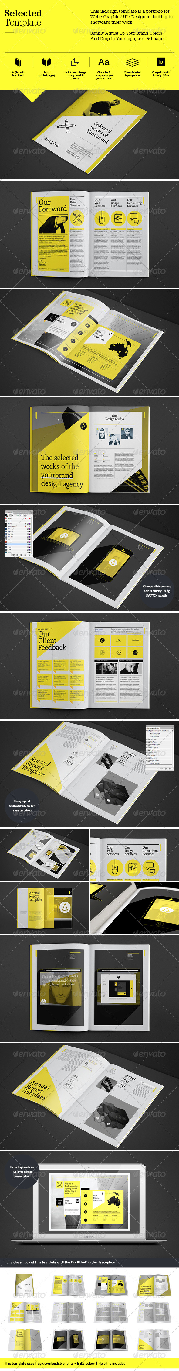GraphicRiver Selected Template 5913114