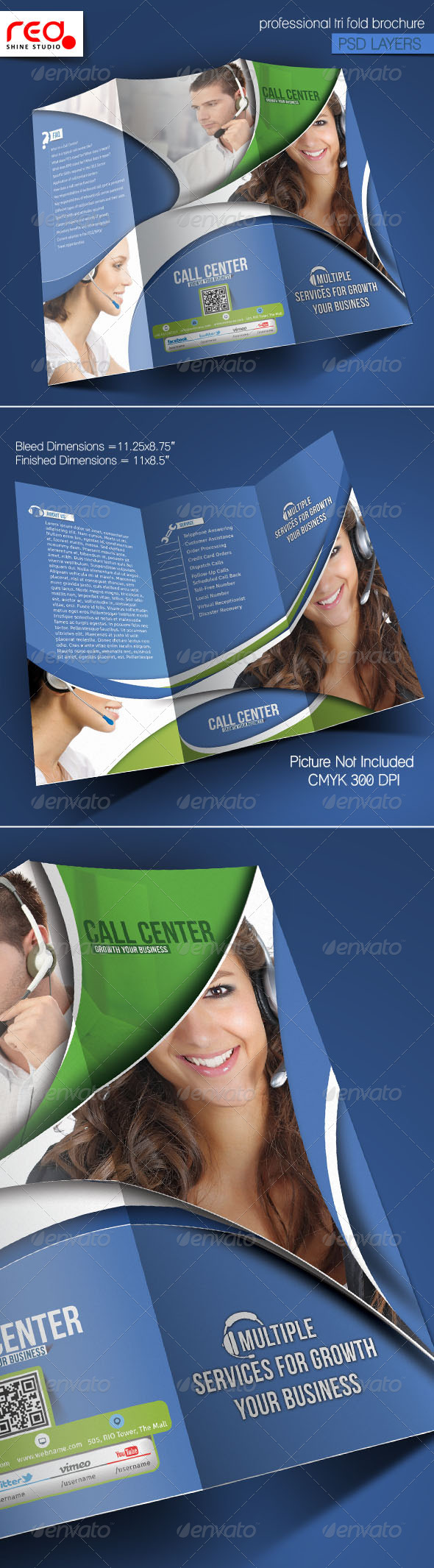 GraphicRiver Customer Support Trifold Brochure Template 2 5973746