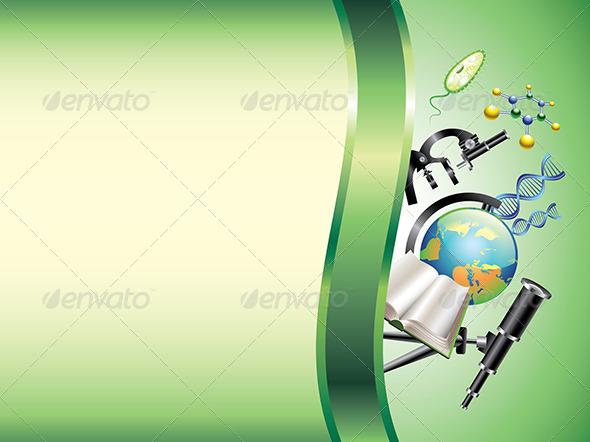 GraphicRiver Scientific Horizontal Vector Background 5974611