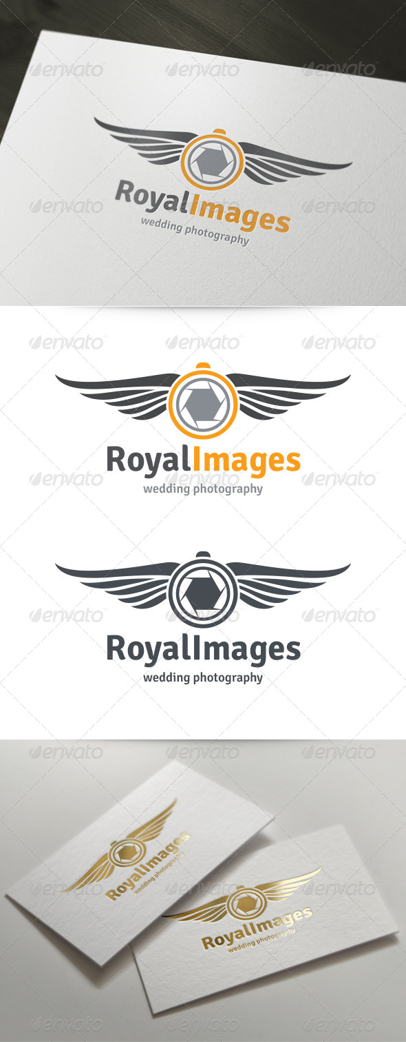 GraphicRiver Royal Images Wedding Photography Logo 5974773
