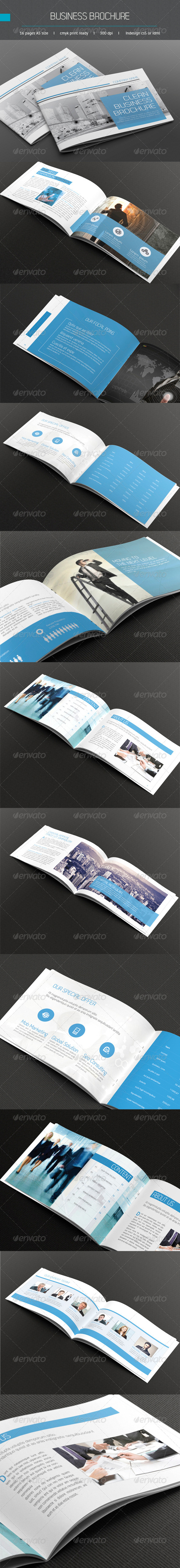 GraphicRiver Business Brochure A5 5946648