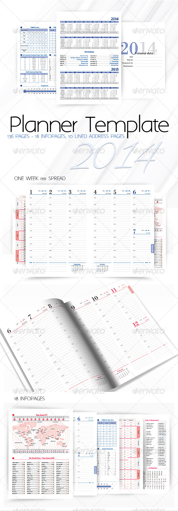 GraphicRiver Planner-Diary-Organizer 2014 5975165