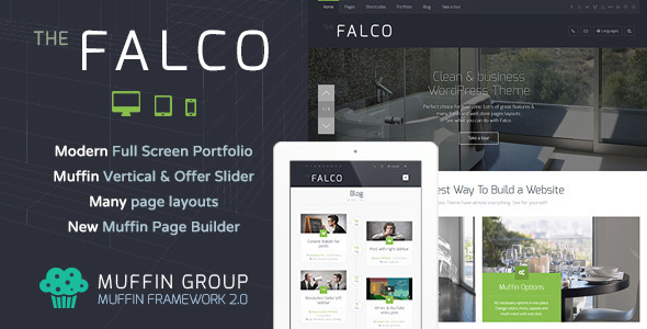 ThemeForest Falco Responsive Multi-Purpose WordPress Theme 5926997