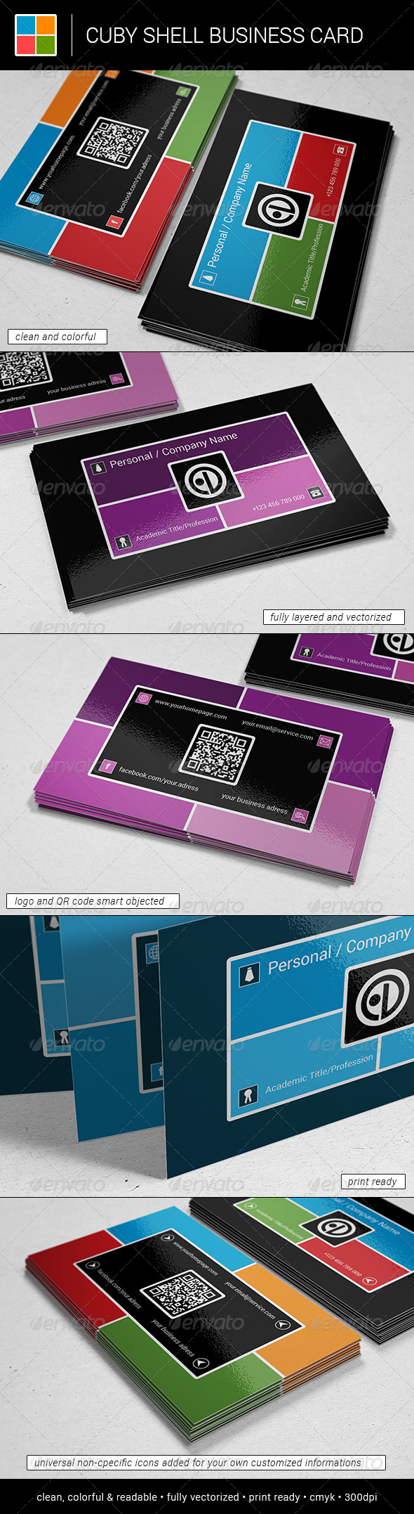 GraphicRiver Cuby Shell Business Card 5946617
