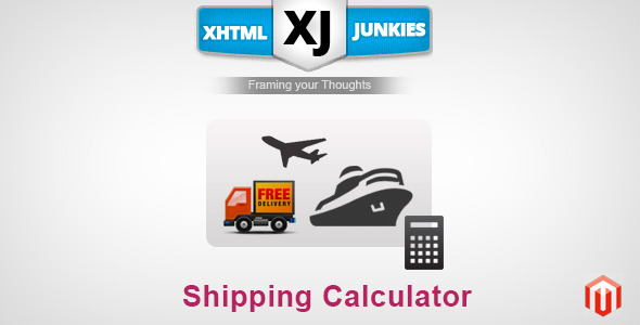CodeCanyon Shipping Calculator By Xj 5975491