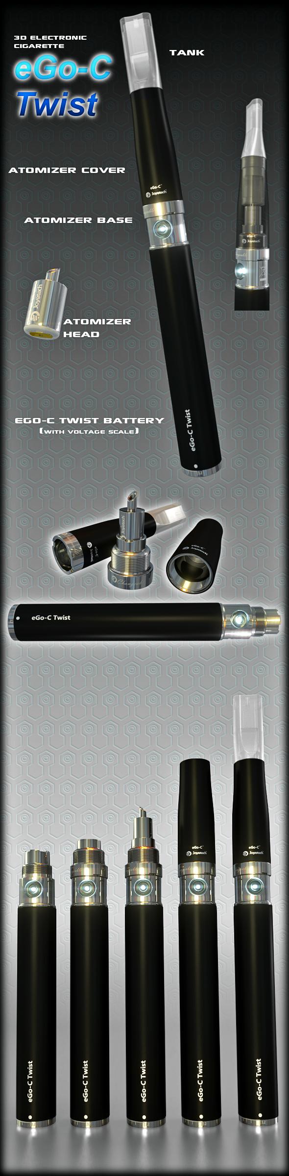 3DOcean eGo-V eGo-VV Cigarette 5975804