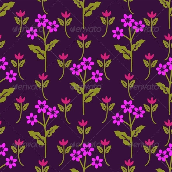 GraphicRiver Purple Pattern 5975807