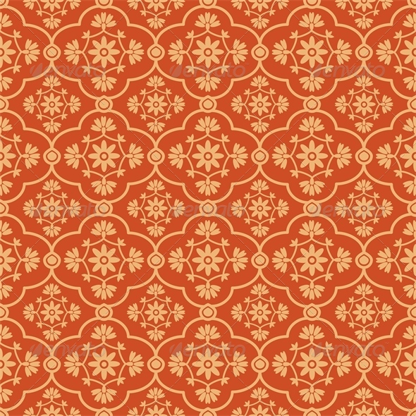 GraphicRiver Floral Pattern 5976380