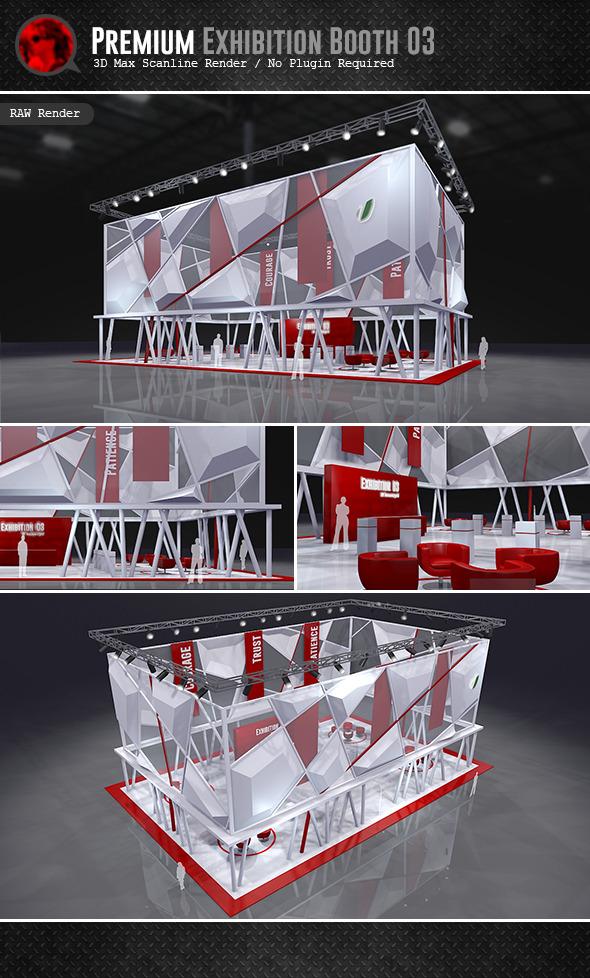 3DOcean Premium Exhibition Design 03 5976515