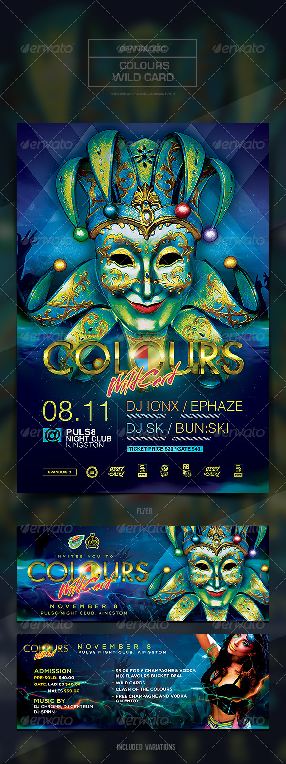 GraphicRiver Colourful Flyer Poster 5949119
