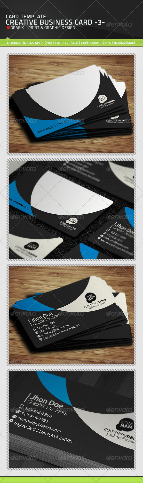 GraphicRiver Creative Business Card 3- 5976822