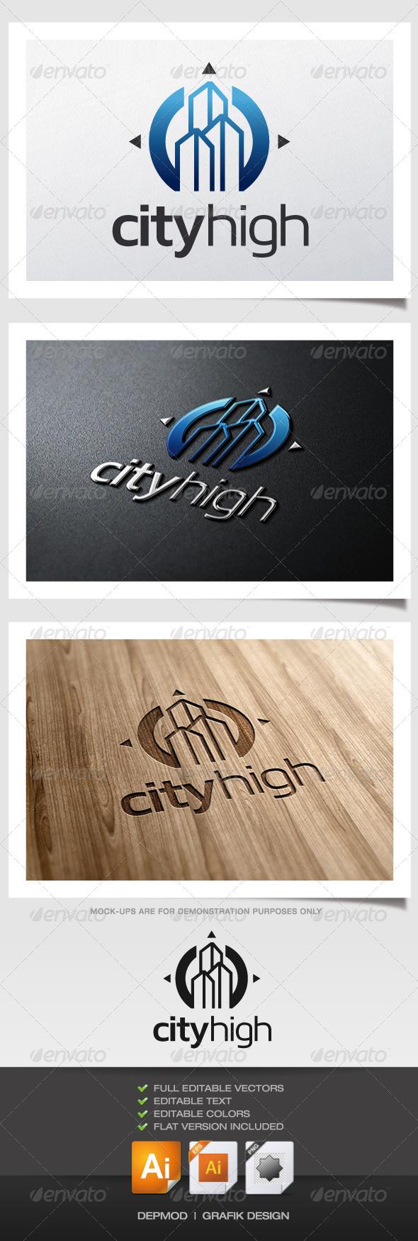 GraphicRiver City High Logo 5977152