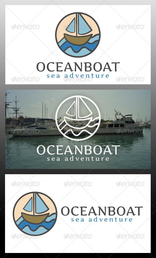 GraphicRiver Ocean Boat Logo Template 5977762