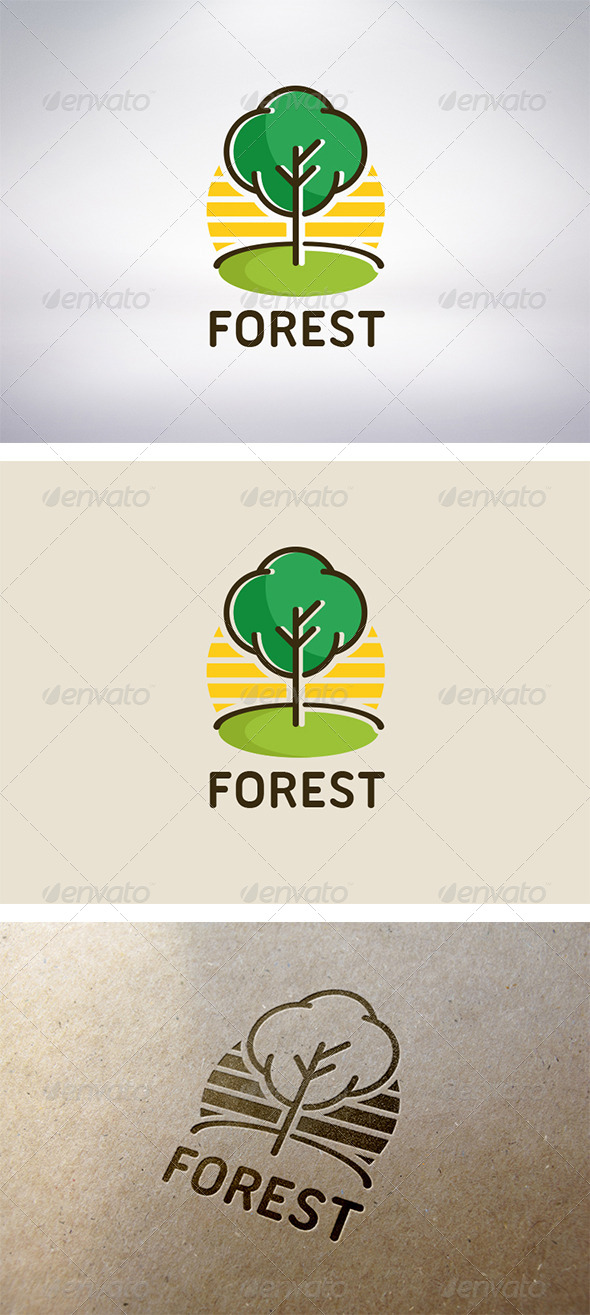 GraphicRiver Tree Logo 5978264