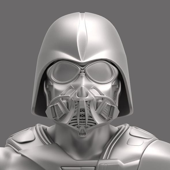 3DOcean Dart Vader modificated helm 5978383