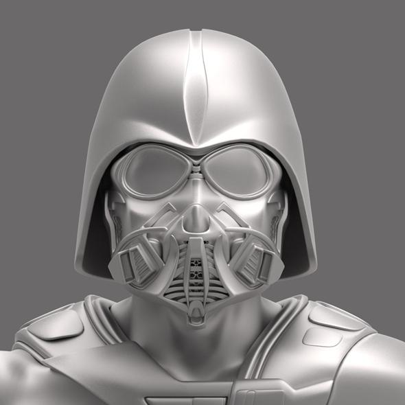 Dart Vader (modificated helm) - 3DOcean Item for Sale