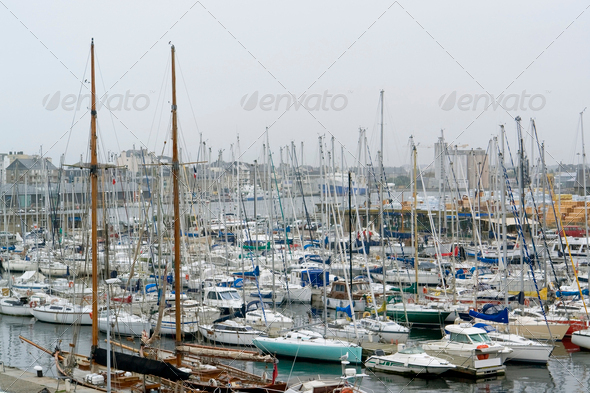 harbor scenery - Stock Photo - Images