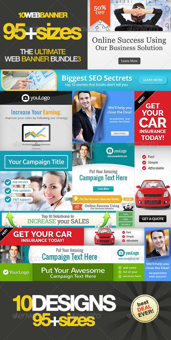 GraphicRiver Ultimate Web Banner Bundle Vol 3 5978760