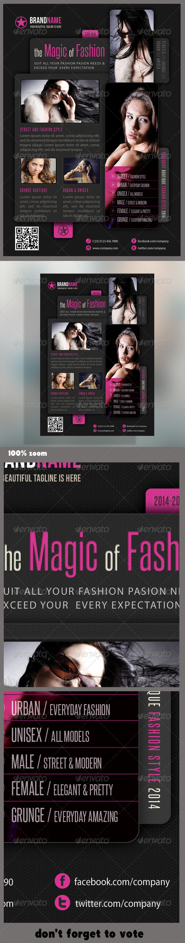 GraphicRiver Fashion Product Flyer 09 5979243