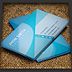 Aqua Blue Creative Business Card - GraphicRiver Item for Sale