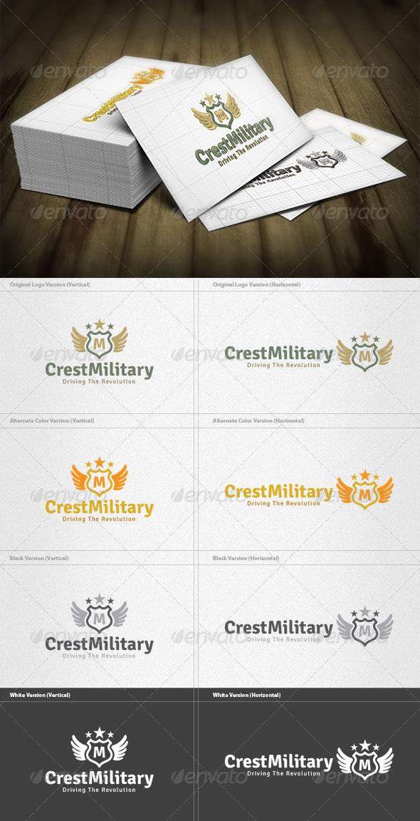 GraphicRiver Military Crest Logo 5980047