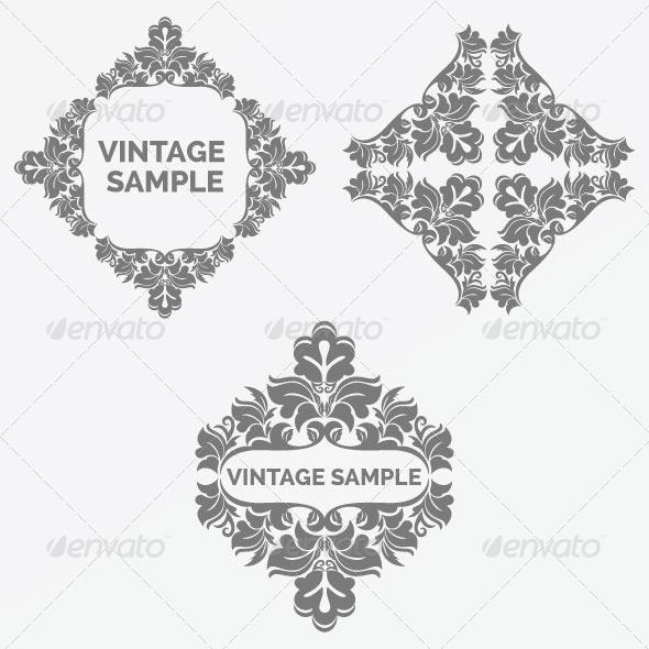 GraphicRiver Vintage Frame 62 5980053