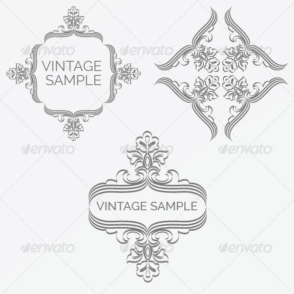 GraphicRiver Vintage Frame 63 5980064