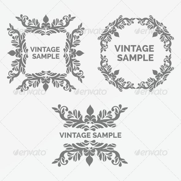 GraphicRiver Vintage Frame 69 5980117