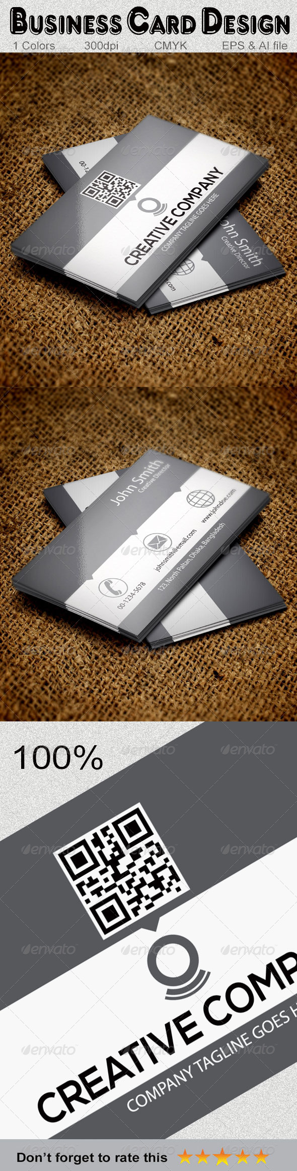 GraphicRiver Creative Business Card Design 5980219