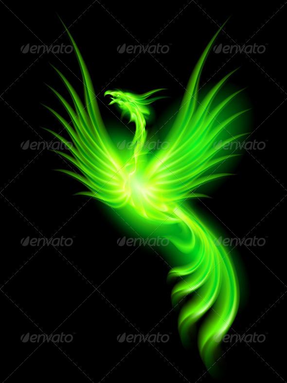 GraphicRiver Fire Phoenix 5980231
