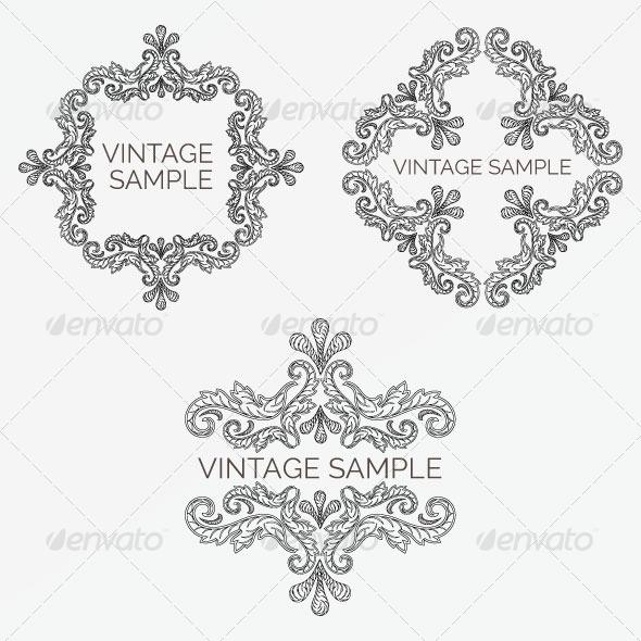 GraphicRiver Vintage Frame 70 5980232
