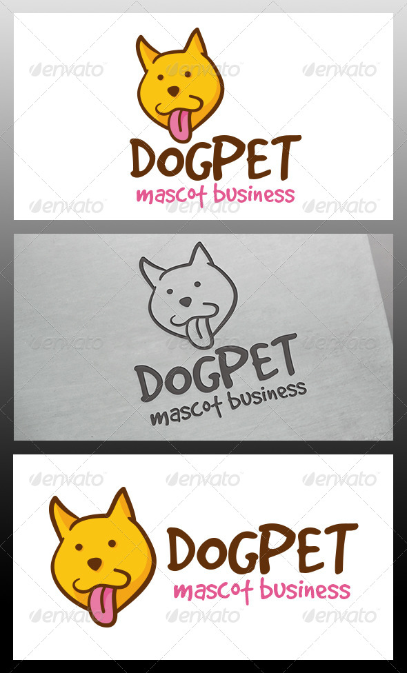 GraphicRiver Dog Logo Template 5980379