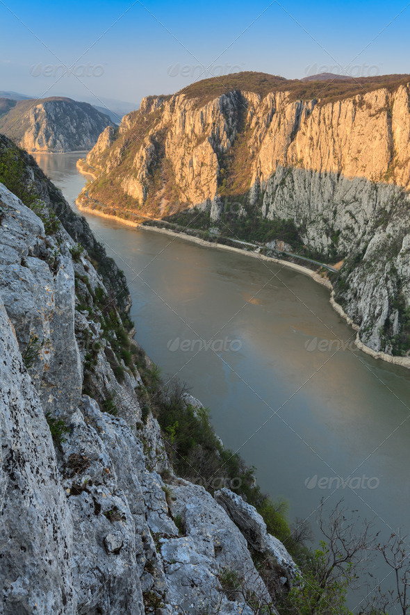 The Danube Gorges - Stock Photo - Images