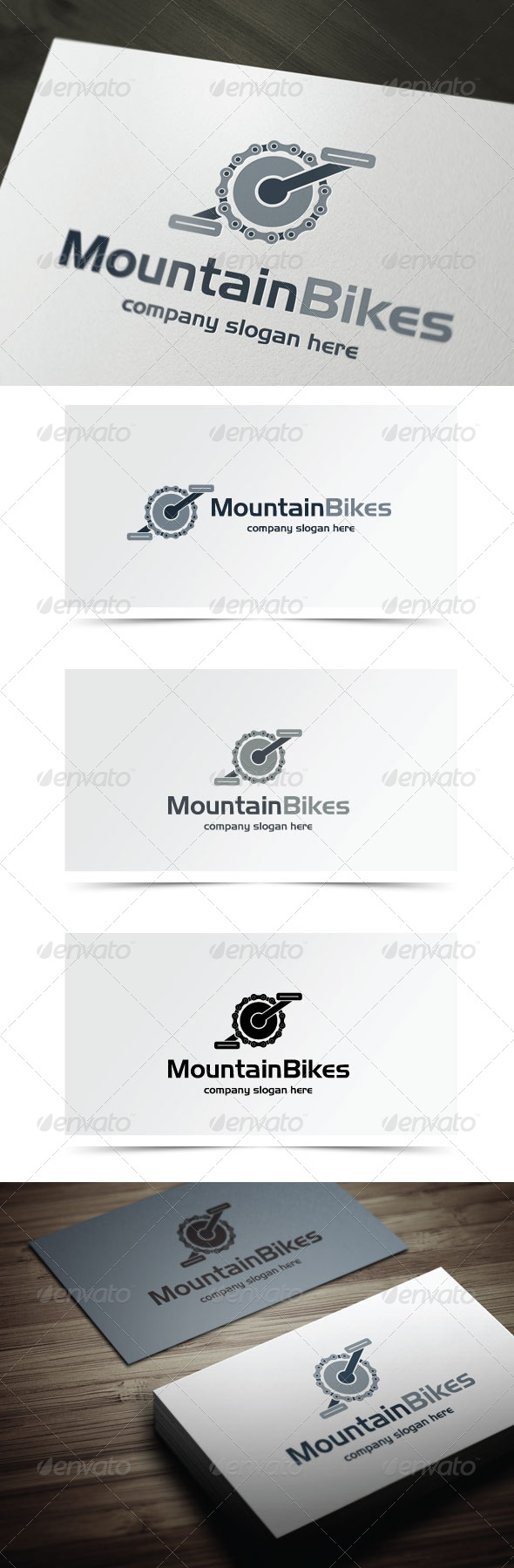 GraphicRiver Mountain Bikes 5980703
