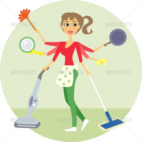 GraphicRiver Housewife 5980715