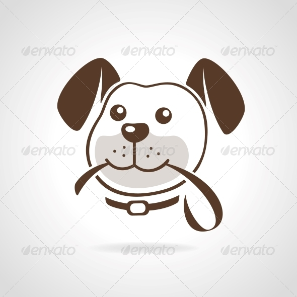 GraphicRiver Dog with Leash 5980718