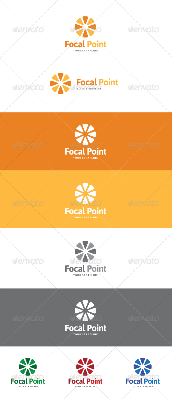 GraphicRiver Focal Point Pattern Logo 5980777