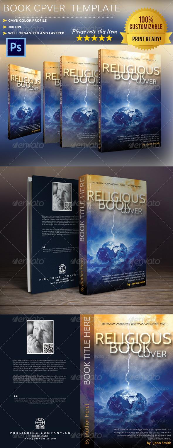 GraphicRiver Book Cover Template Vol.5 5981098